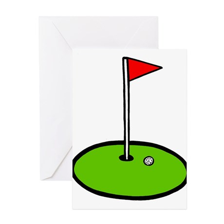 460x460 Golf Drawing Greeting Cards Golf, Custom Greeting Cards