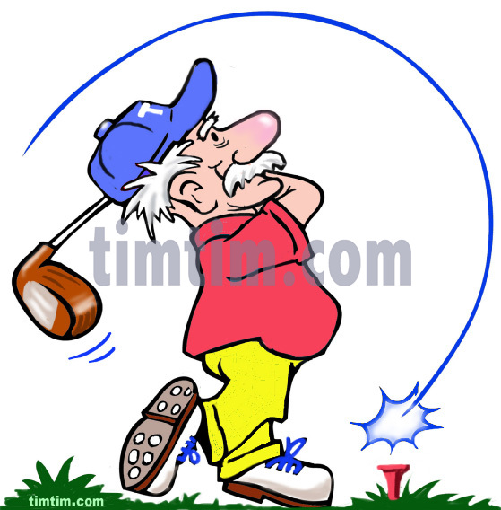 559x568 Free Drawing Of A Golf Pension From The Category Sports