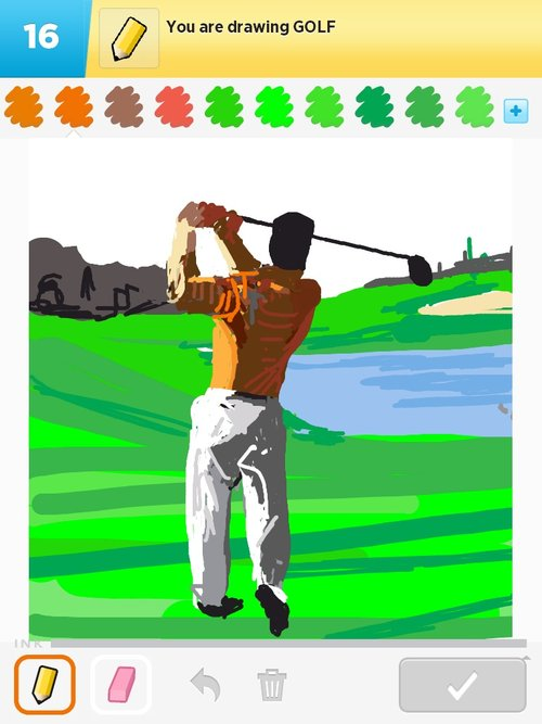 500x667 Golf Drawings