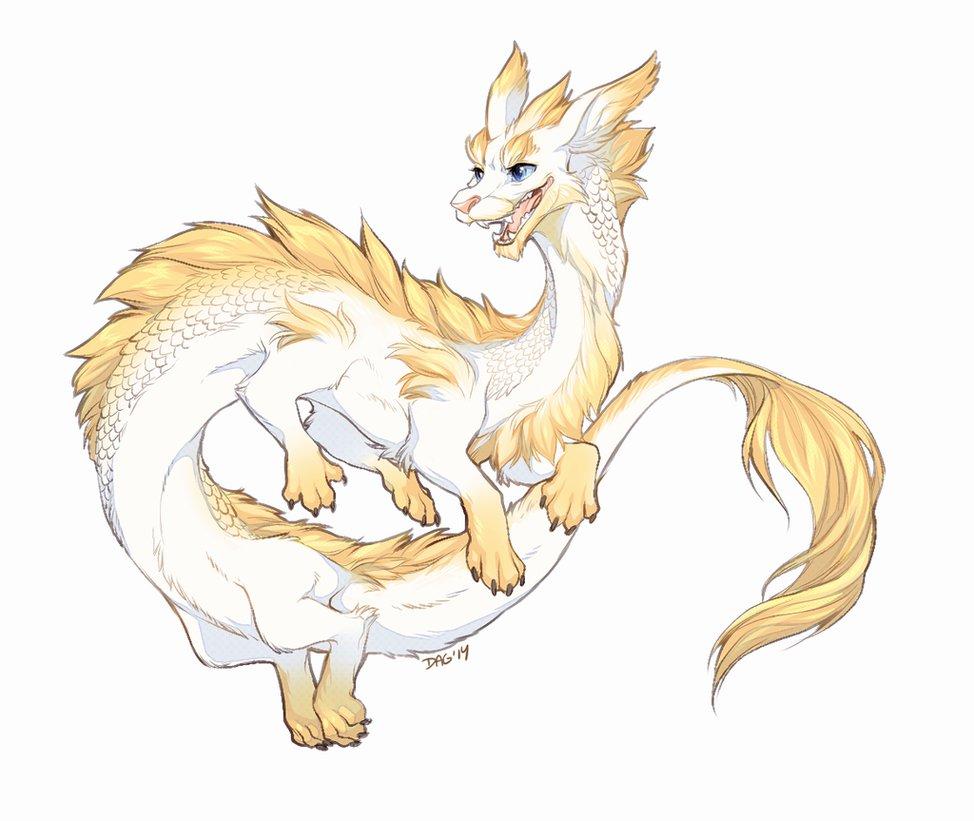 974x821 Good Luck Dragon By Majime
