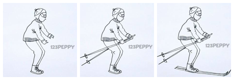 790x270 How To Draw A Skiing Man Xidasoft