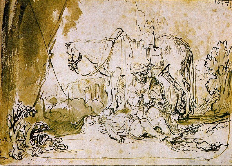 800x575 Rembrandt The Good Samaritan Rembrandt Rembrandt