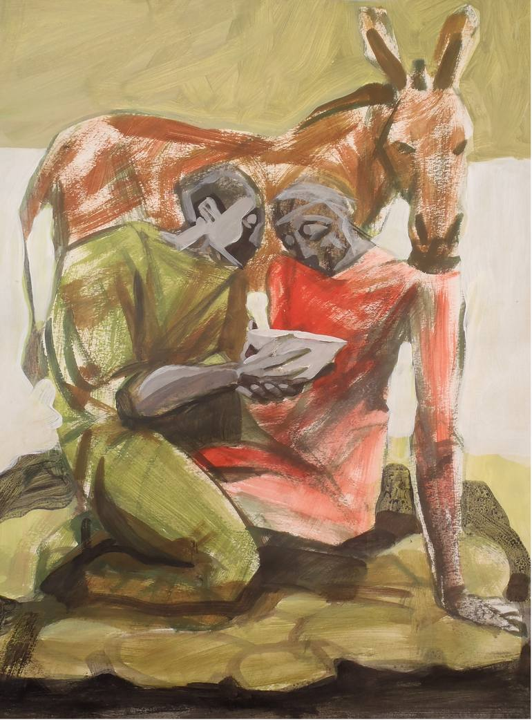 770x1042 Saatchi Art Good Samaritan Drawing By Paulus Hoffman