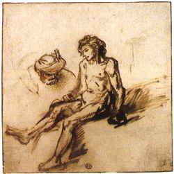 250x251 The Words Of Jesus Rembrandt