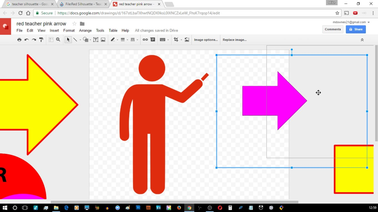 1280x720 Google Drawings Image Options Recolor