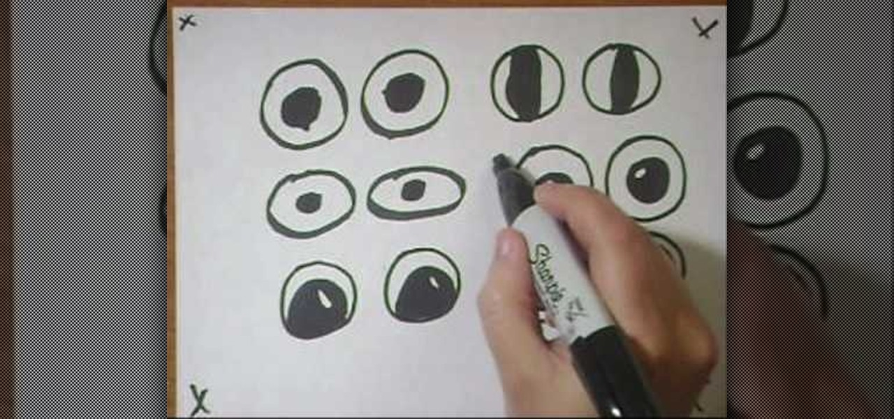 1280x600 How To Draw Cartoon Googly Eyes On Crafts Drawing Amp Illustration