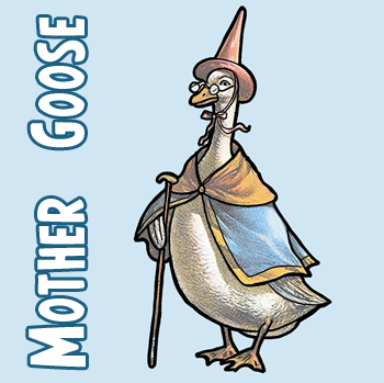 350x349 How To Draw Mother Goose With Easy Step By Step Drawing Lesson