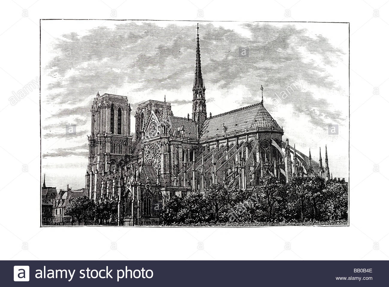 1300x959 Notre Dame Gothic Cathedral Flying Buttress Renaissance Romanesque