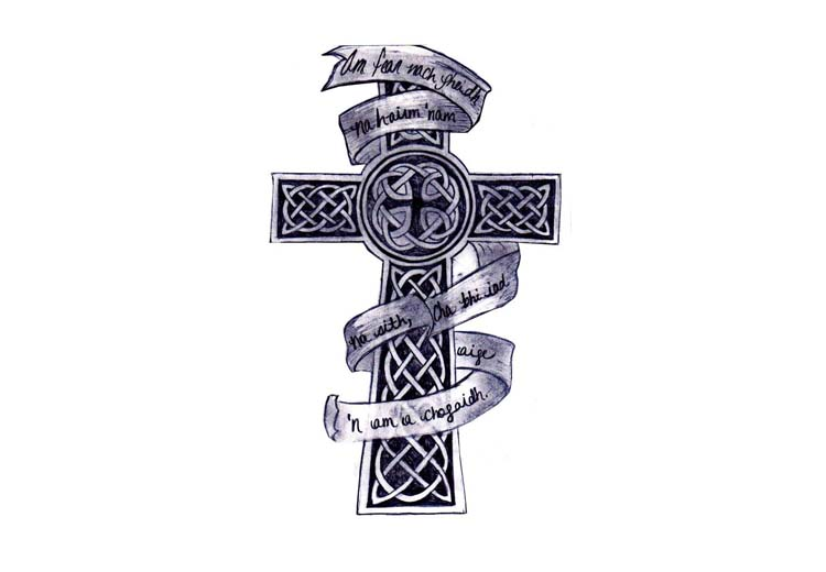 Gothic Cross Drawing at GetDrawings com   Free for personal