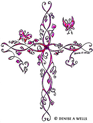 300x396 50 Cross Tattoos Tattoo Designs Of Holy Christian, Celtic