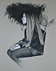 235x300 Gothic Girl Drawings