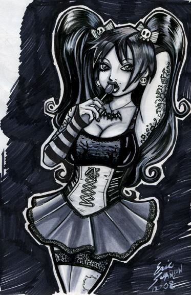 373x576 Goth Girl By Lstnlmbo75