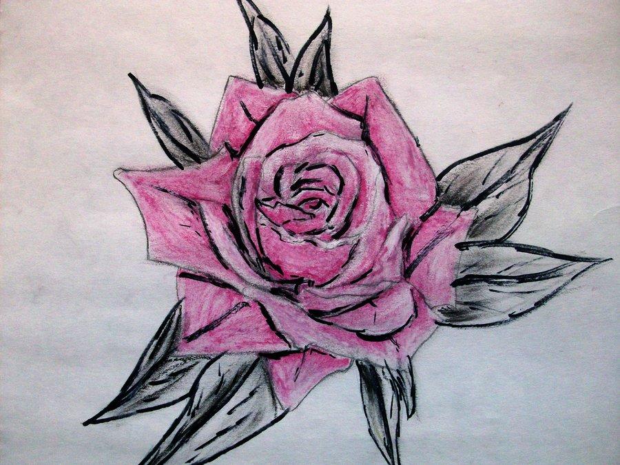 900x675 Gothic Rose By Xxxtearsxforxemosxxx