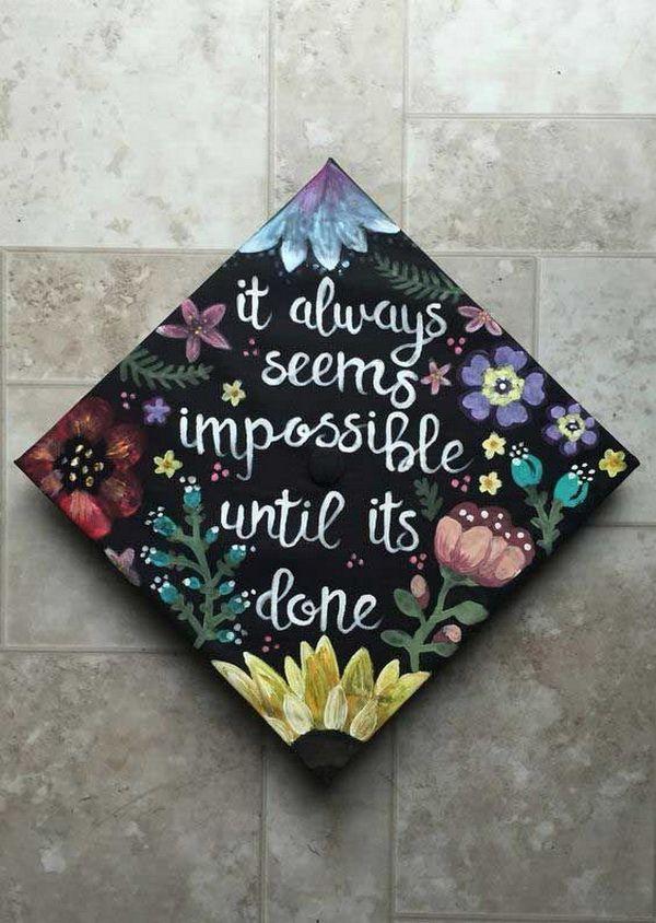 600x844 Gorgeous Graduation Cap Decoration Ideas Cap, Grad Cap