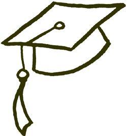 250x268 How To Draw A Graduation Cap