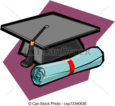 450x415 Diploma And Graduation Cap Vectors