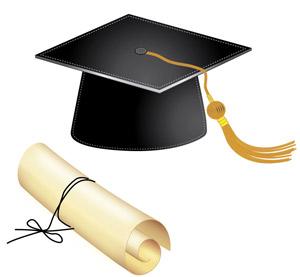 300x277 Illustrator Tutorial Graduation Hat