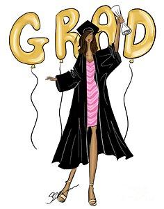 236x300 Graduation Gown Drawings Fine Art America