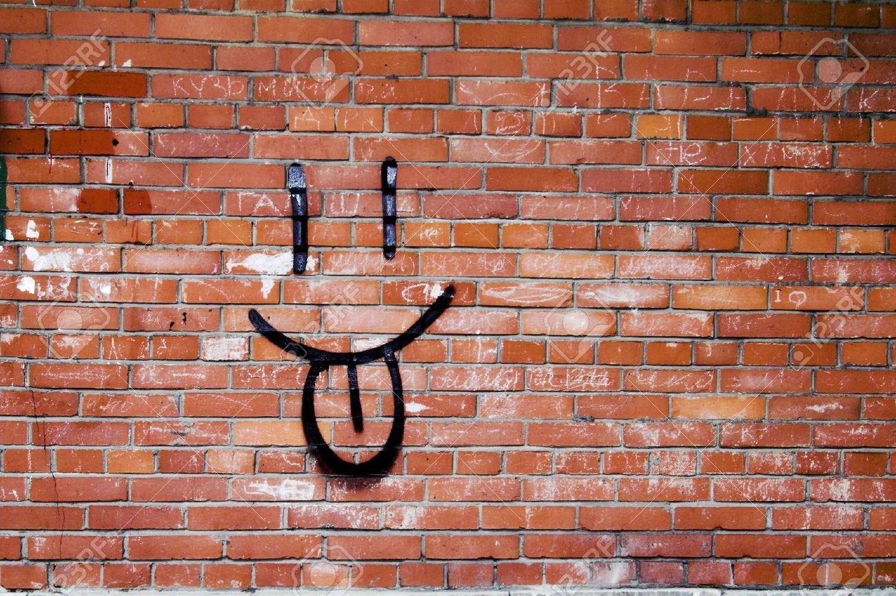1300x865 Graffiti Brick Wall Background Drawing Graffiti Brick Wall Drawing