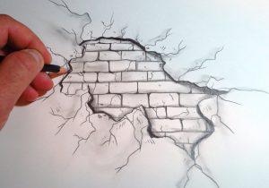 300x210 Graffiti Wall Drawing Drawn Graffiti Brick Wall