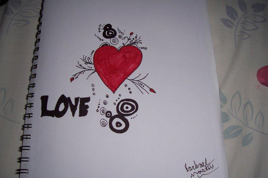 900x600 Graffiti Heart By Martinnnnnnn
