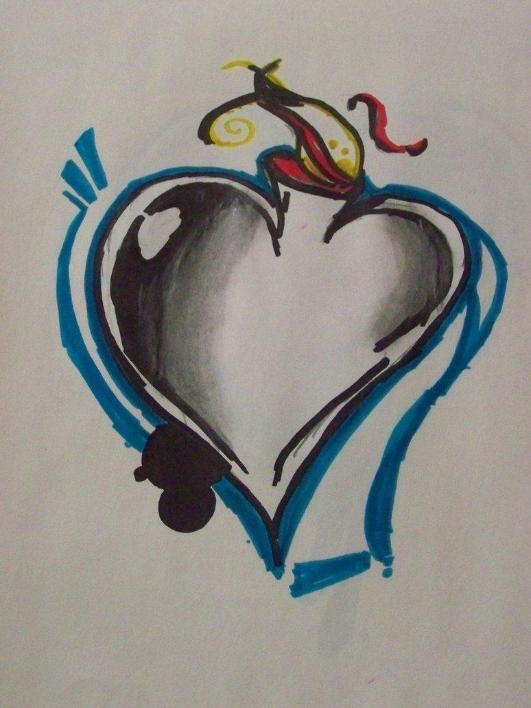 774x1032 Graffiti Heart By Shaneegirlo