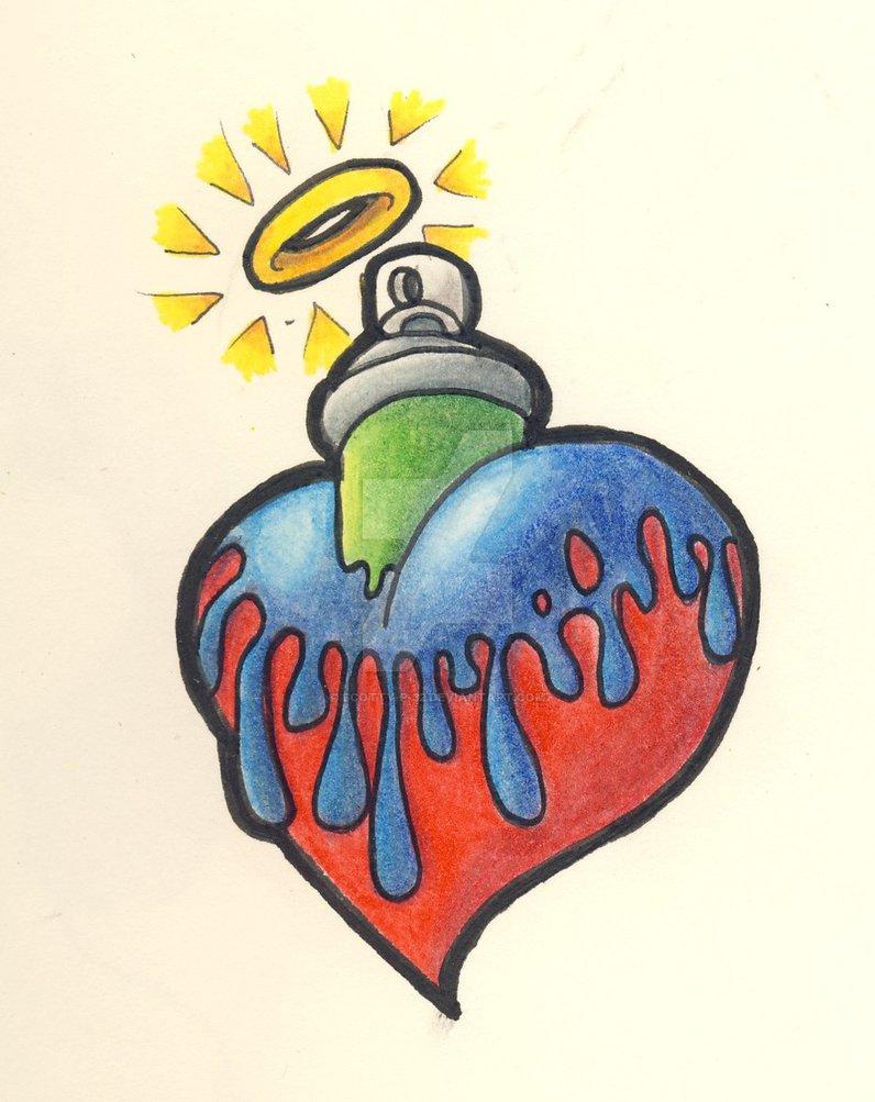 796x1003 Graffiti Heart By Scotty P 32
