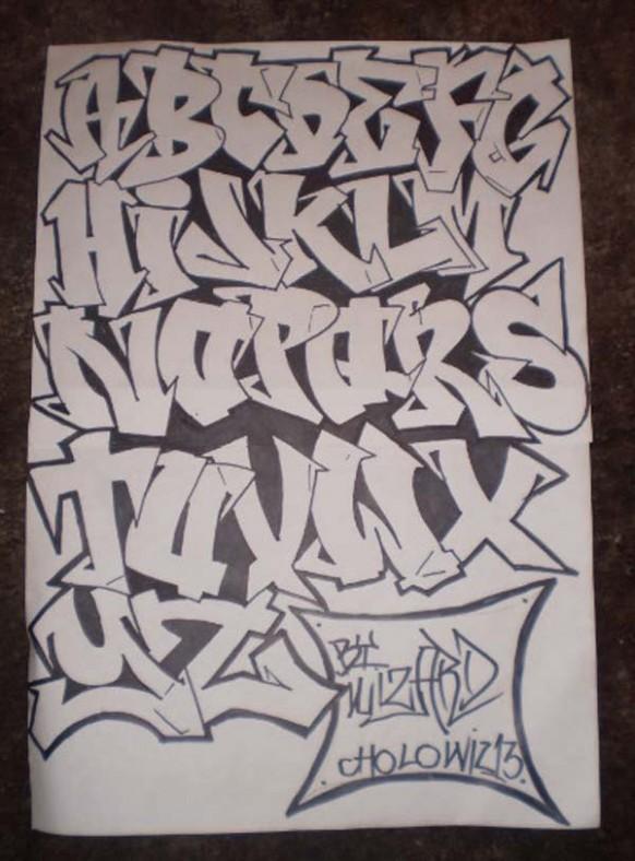 Graffiti Letters Az Drawing At Getdrawings Com Free For Personal