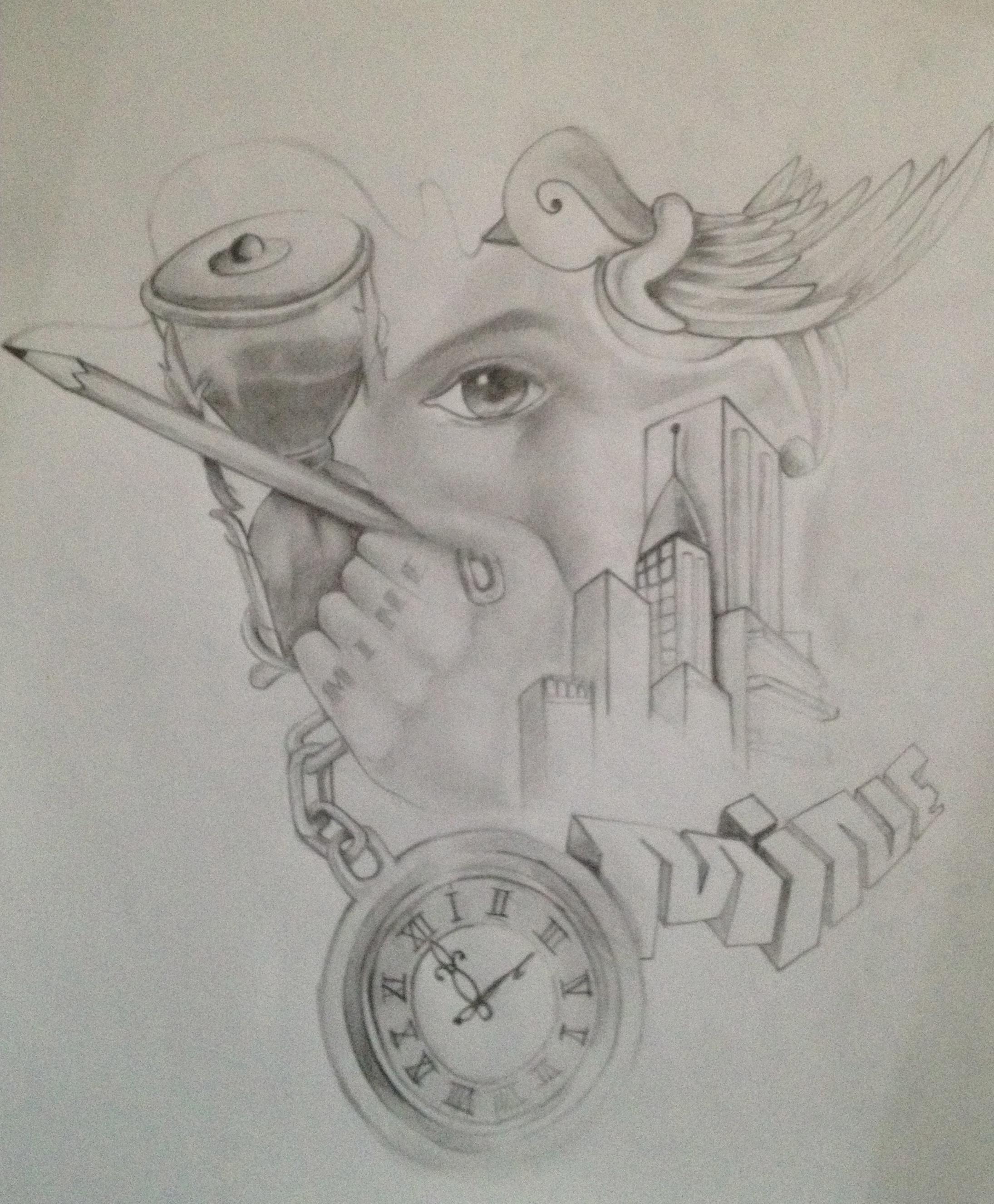 2190x2652 Cool Graffiti Designs In Pencil Drawing
