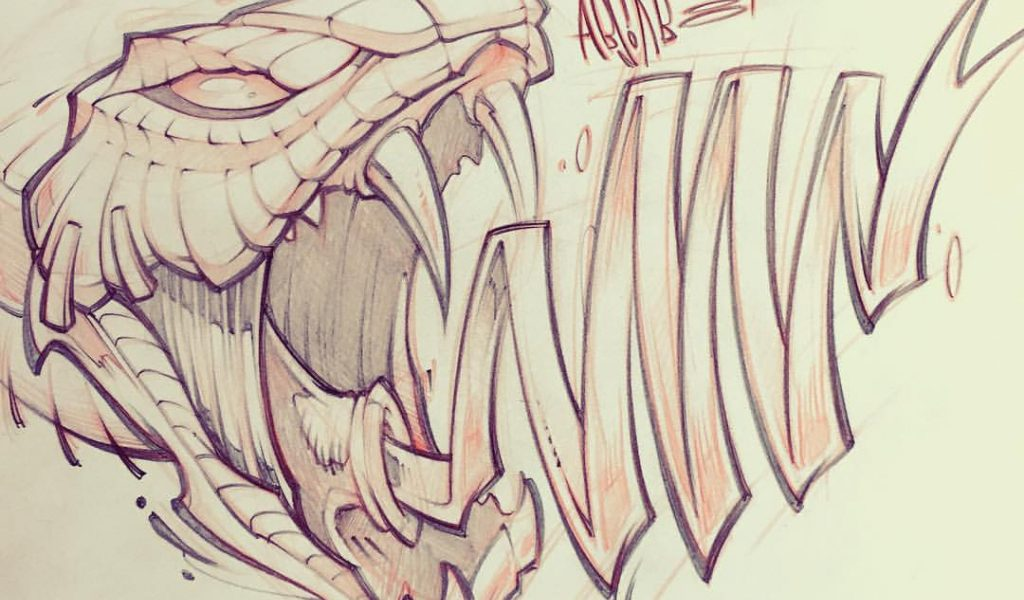 1024x600 Graffiti Pencil Sketch Graffiti Pencil Sketches Quick Lunch Sketch