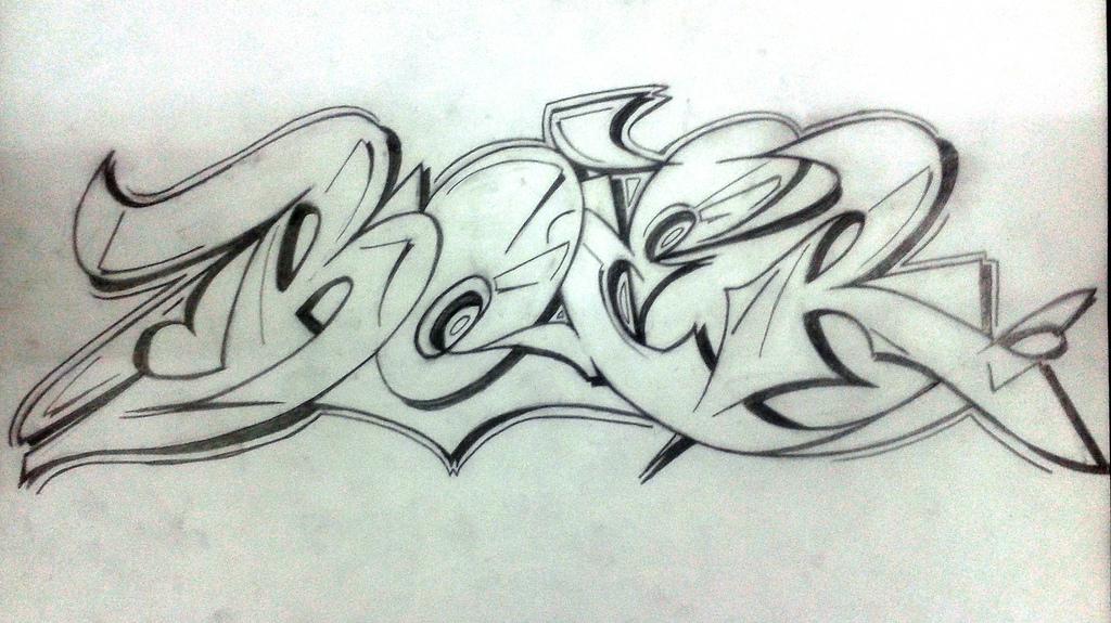 1024x575 Photos Graffiti Pencil Sketches,