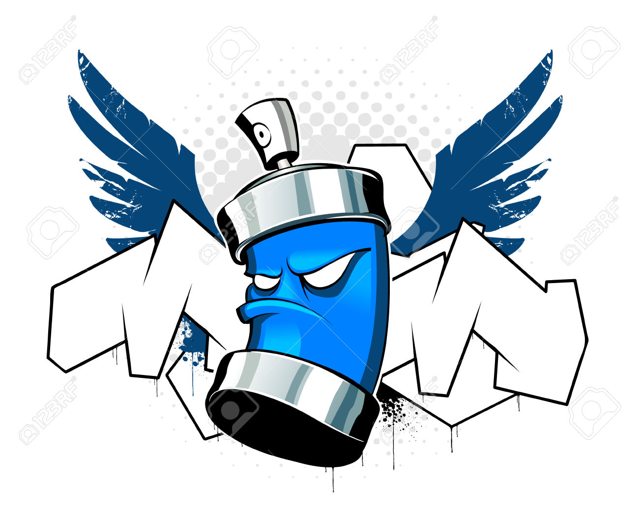 graffiti spray can drawing at getdrawings com free for personal