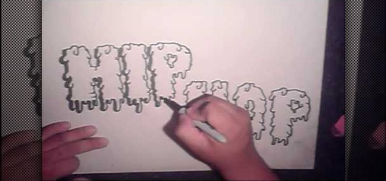 1280x600 How To Draw Cool Graffiti Letters, Step By Step Graffiti