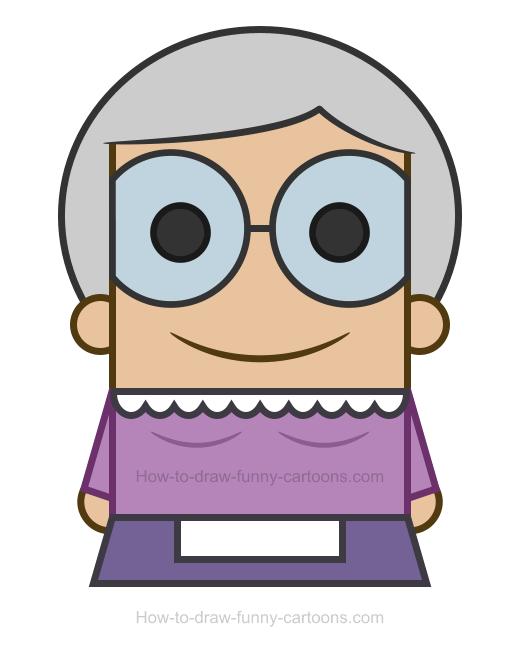 520x655 Grandma Clipart