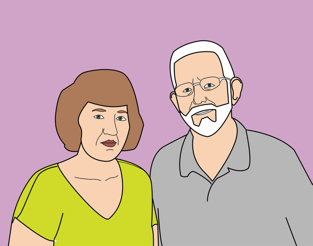 1008x792 My Grandparents Life Drawing By Mrpillowhead