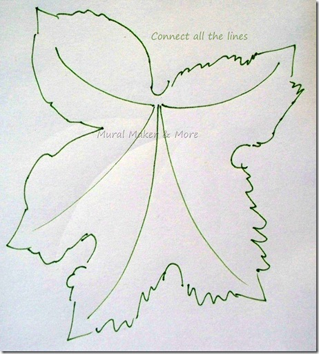 462x512 Grape Leaf Template 5 Art Template, Leaves