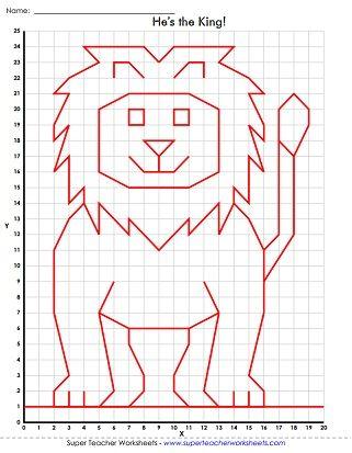 321x413 Mystery Graph Art Worksheet Cuadricula Art