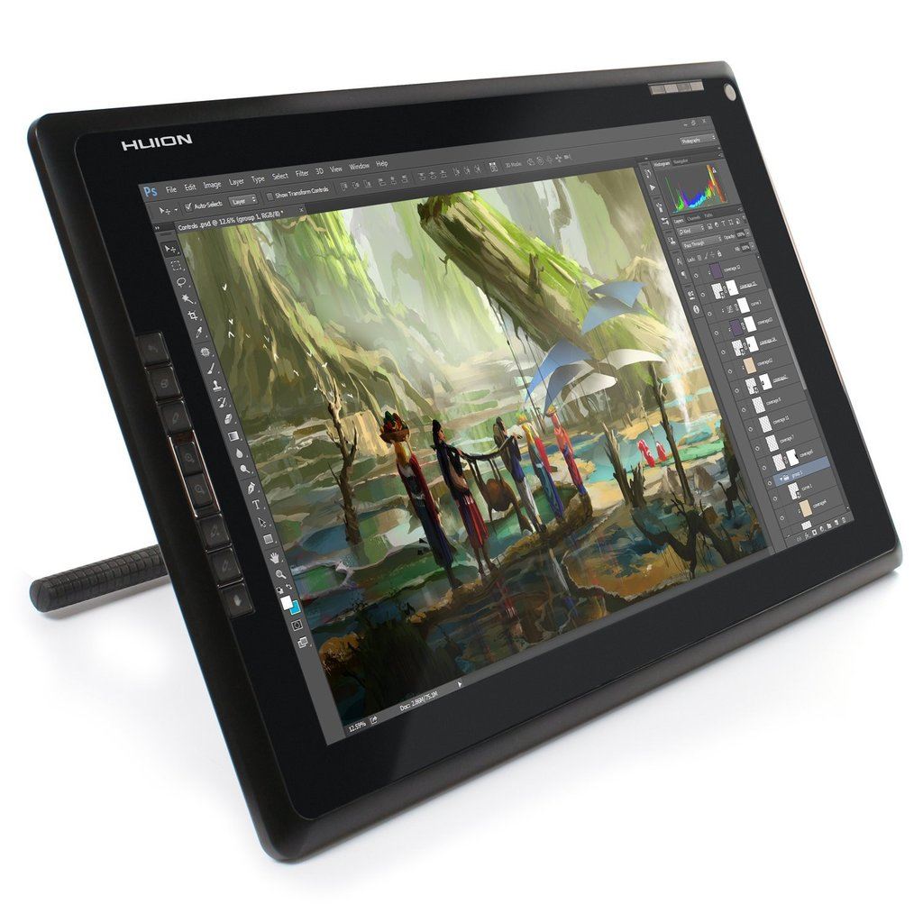 1024x1024 Huion Gt 185 Graphics Drawing Tablet Monitor With Express Keys