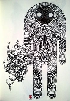 236x339 Mirror Effect, Graphics, Drawing, Abstraction, Bioforms, Abstract