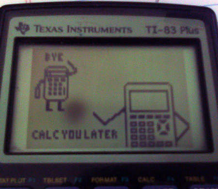450x390 Top 10 Most Creative Graphing Calculator Drawings