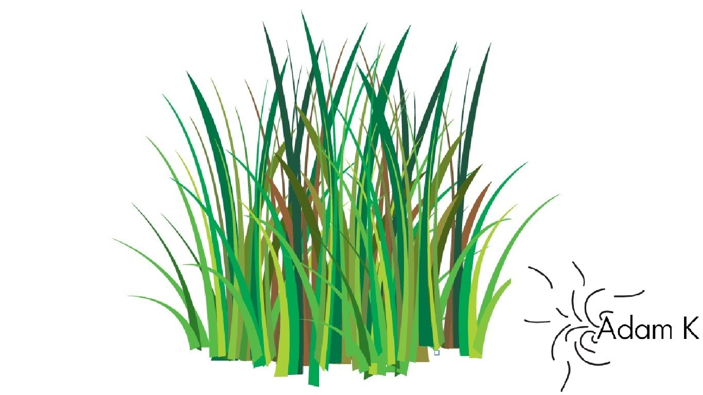 1366x768 Quick Way How To Create Grass Vector