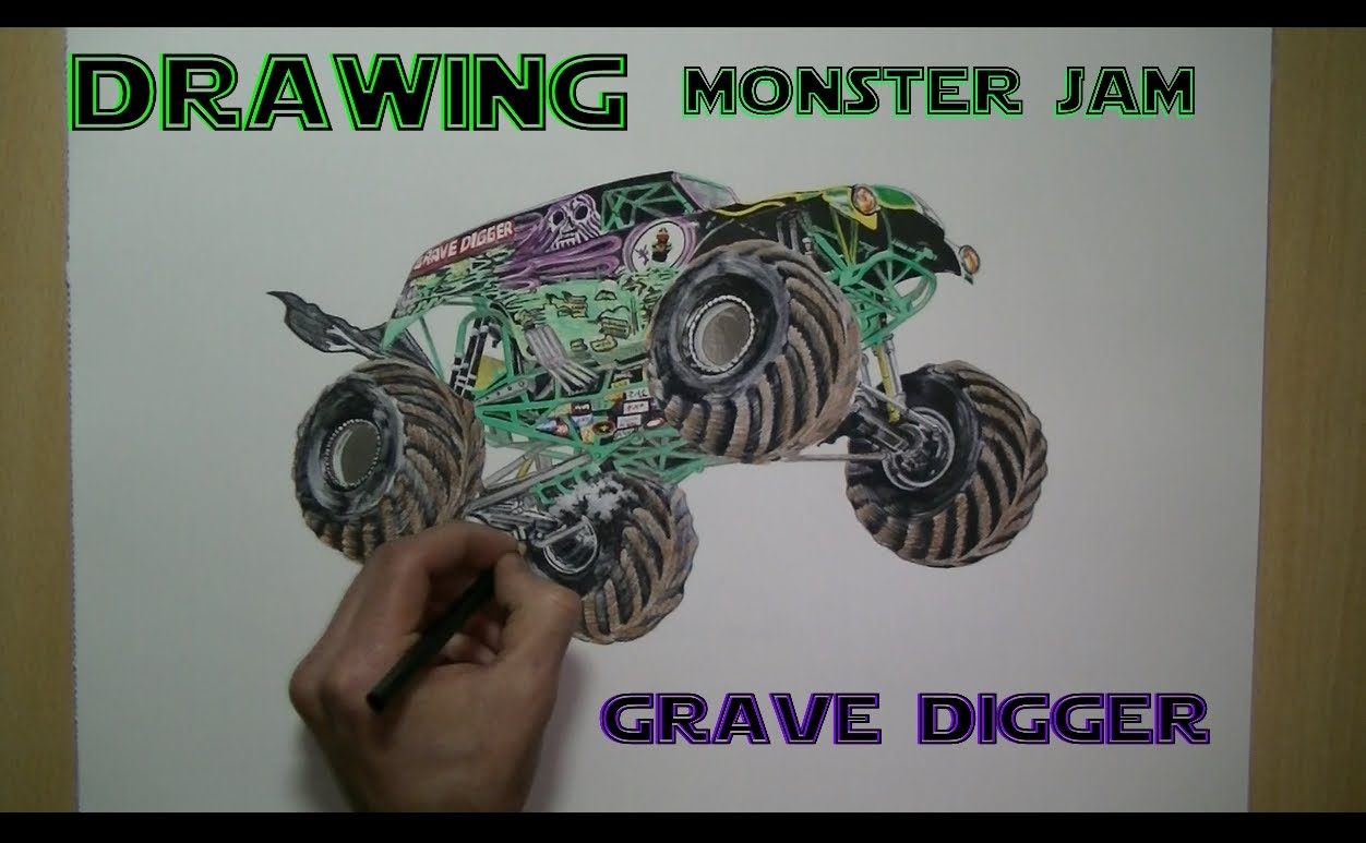 1252x773 Speed Drawing Monster Jam