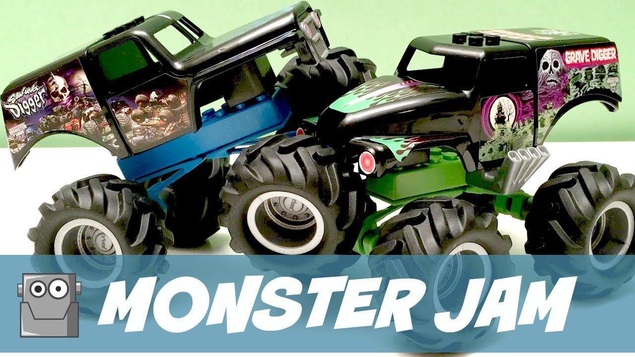 1280x720 Monster Jam K'Nex Grave Digger Monster Trucks
