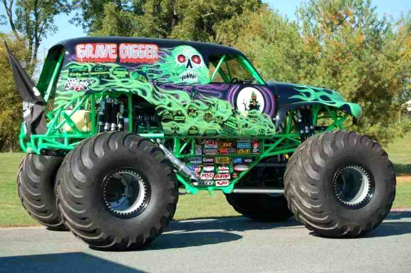 800x532 Monster Truck Grave Digger Coloring And Monster Trucks Videos 441