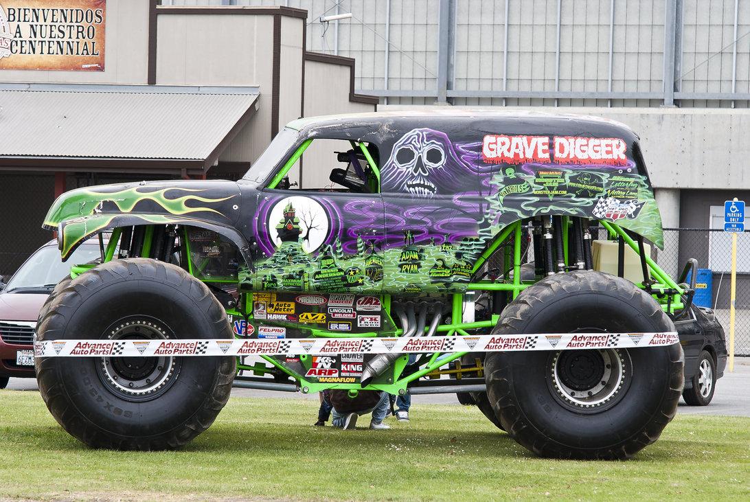 1092x731 Monster Truck Grave Digger By Brandonlee88