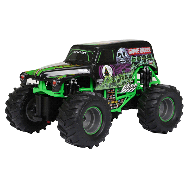 600x600 New Bright 115 Radio Control Monster Jam Truck Grave Digger