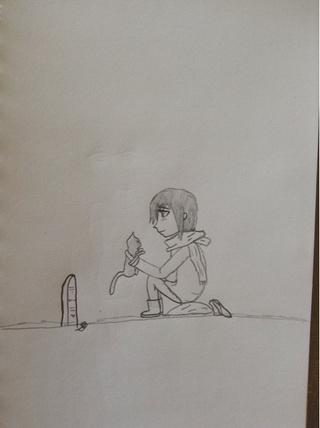 320x428 Sad Drawing Day.
