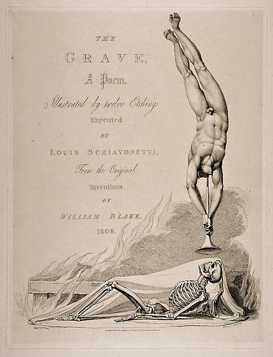 534x699 The London Dead The Million Grave William Blake's Lost Drawings