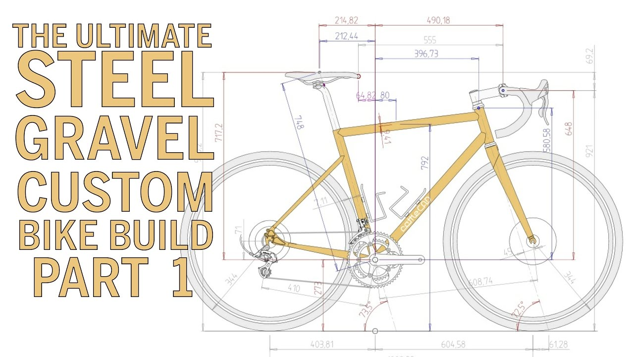 1280x720 The Ultimate Steel Gravel Custom Bike Build Part 1
