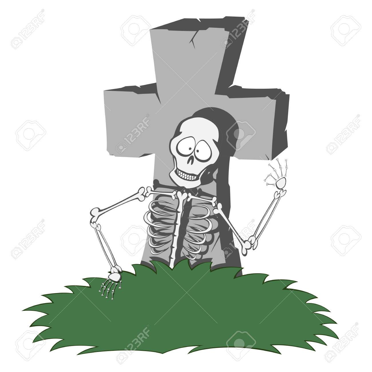 1300x1300 A Gray Cross Shaped Gravestone With Grass